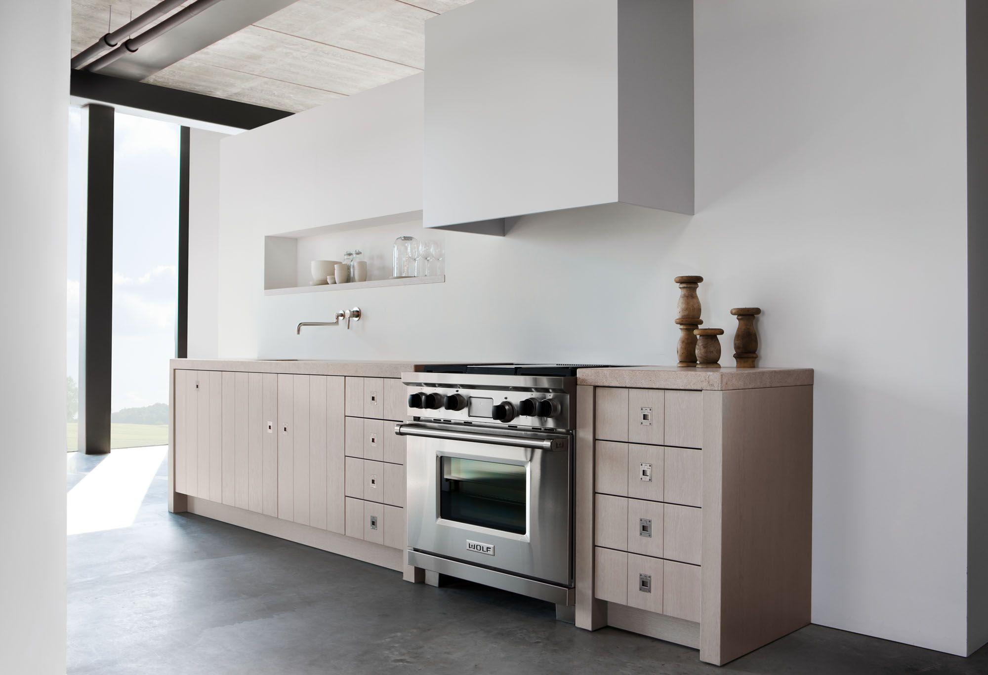 Rechte Keuken 3 Meter : Warendorf Kitchens by Piet Boon