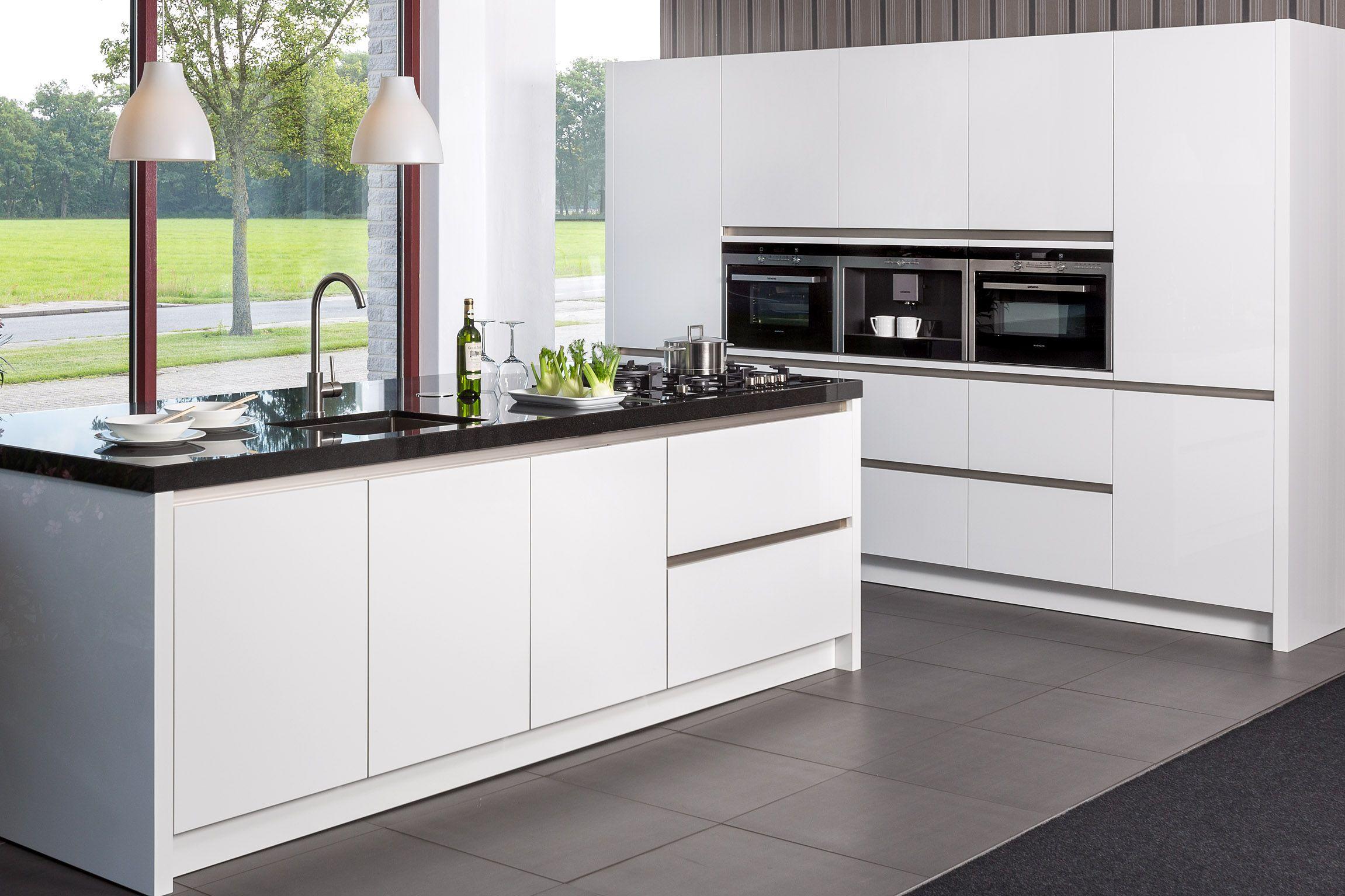 Keukeneiland Wit : Pumpink com Leven Huis Moderne