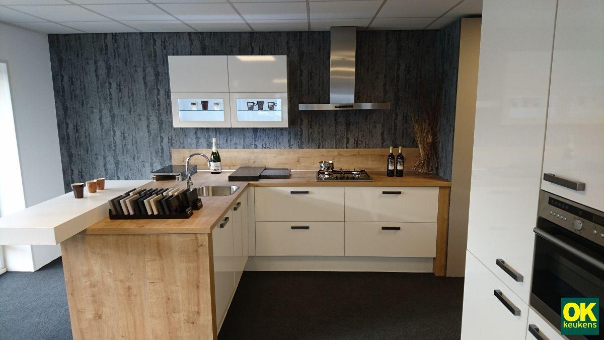 ... keukenaanbod van Nederland  Moderne keuken met schiereiland [54108