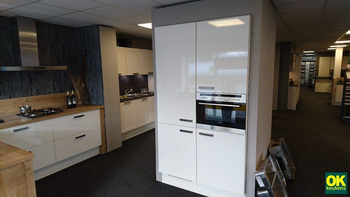 Het grootste keukenaanbod van nederland moderne keuken met schiereiland 54108 - Afbeelding moderne keuken ...